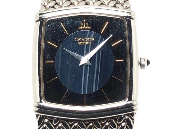 SEIKO(セイコー) 腕時計 6730-5340 レディース ネイビー×黒