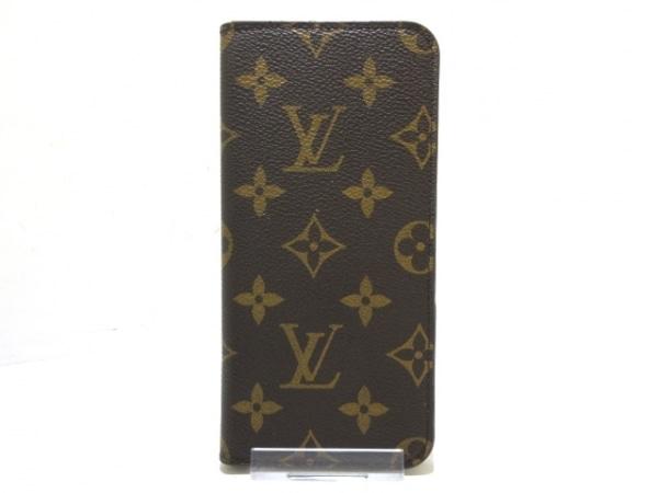 ルイヴィトン 携帯電話ケース モノグラム IPHONE7+フォリオ M63400 マロン