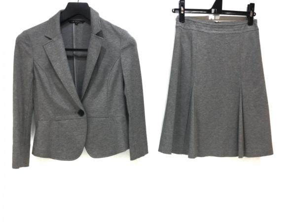 23区(ニジュウサンク) スカートスーツ サイズ32 XS レディース美品  グレー