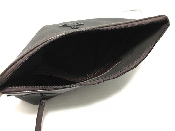 ヴィヴィアンウエストウッド クラッチバッグ美品  VWB460 PVC(塩化ビニール)×レザー