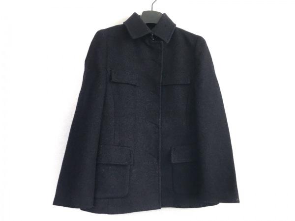 COMME CA DU MODE(コムサデモード) コート サイズ9 M レディース 黒 冬物/ショート丈