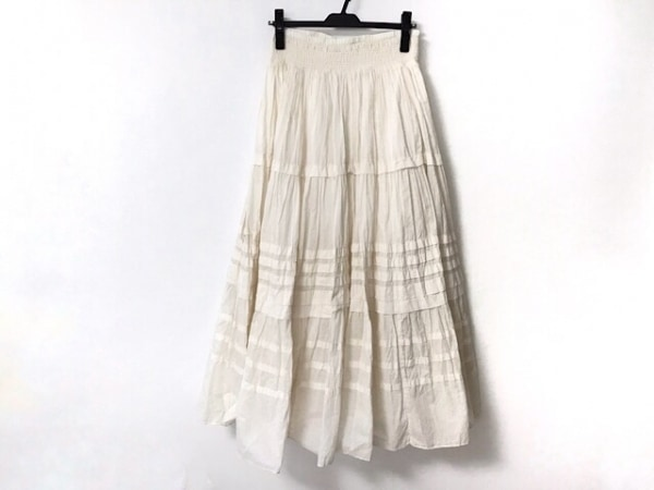 ラルフローレンデニム&サプライ ロングスカート レディース美品  アイボリー