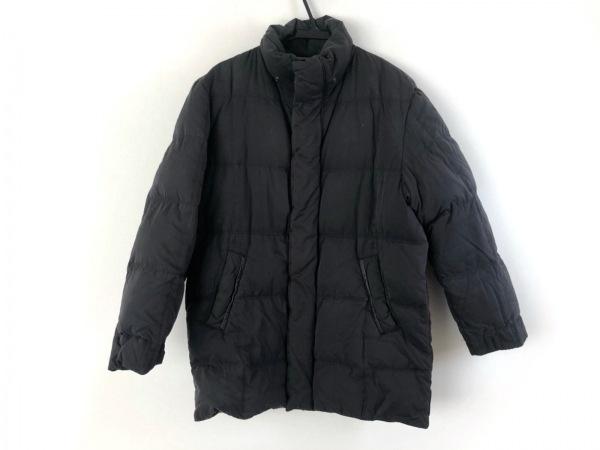 ヘンリーコットンズ ダウンコート サイズ46 XL メンズ ダークグレー 冬物