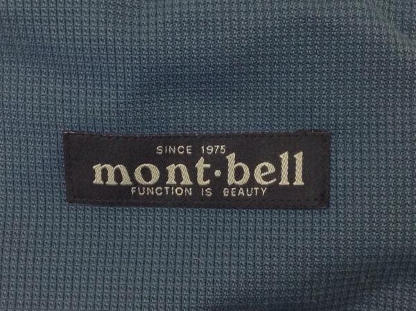mont-bell(モンベル) ウエストポーチ ネイビー×グレー×黒 ナイロン