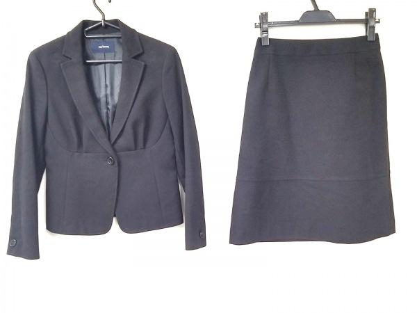 NEW YORKER(ニューヨーカー) スカートスーツ サイズ9AR S レディース美品  黒