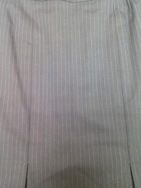 ニューヨーカー スカートスーツ サイズ7AR S レディース美品  ダークネイビー×白