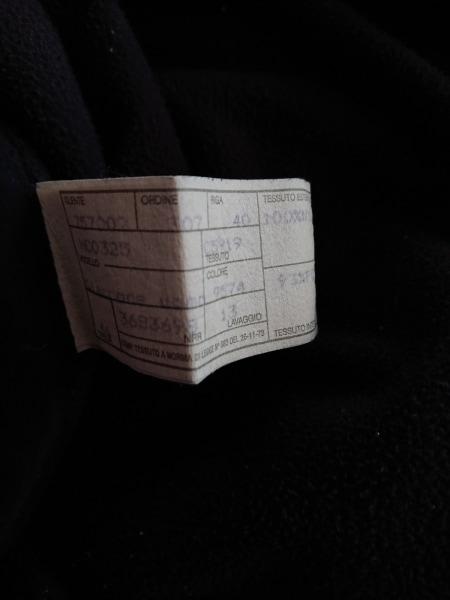 アルマーニコレッツォーニ ブルゾン サイズ46 S メンズ ダークネイビー×ダークグレー