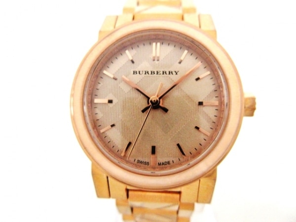 Burberry(バーバリー) 腕時計 BU9235 レディース ピンクゴールド