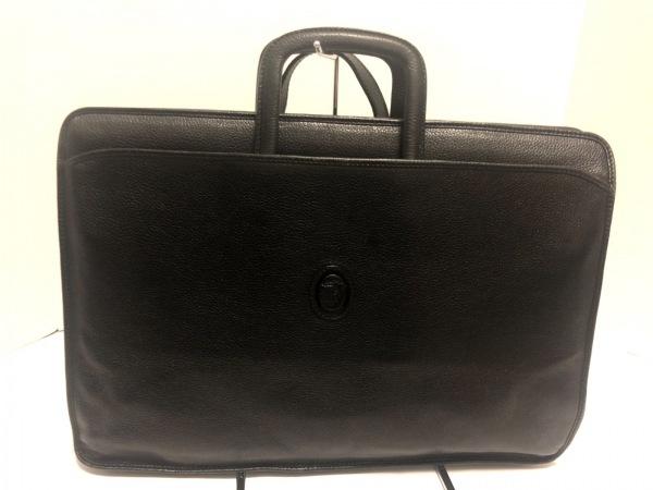 TRUSSARDI(トラサルディー) ビジネスバッグ 黒 レザー