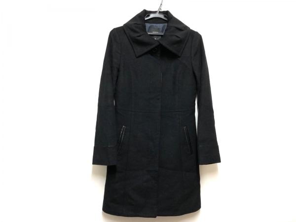 INDIVI(インディビ) コート サイズ38 M レディース 黒 冬物/GALLEST