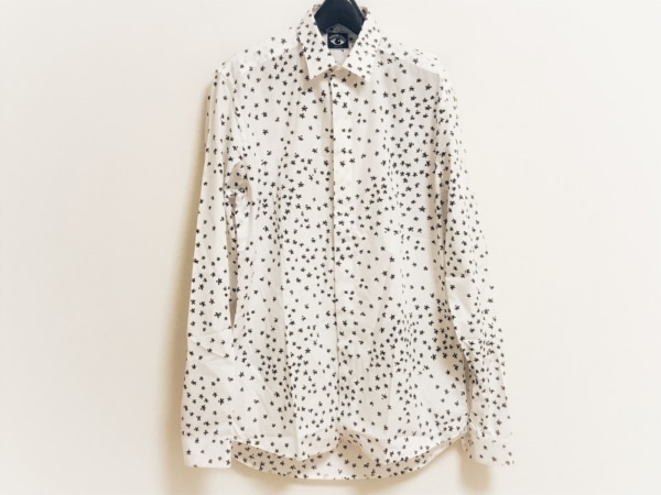 KENZO(ケンゾー) 長袖シャツ サイズ39 メンズ美品  アイボリー×黒