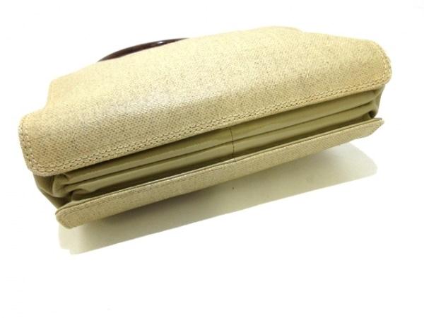シャネル トートバッグ - ベージュ×ダークブラウン プラスチックハンドル/ココマーク