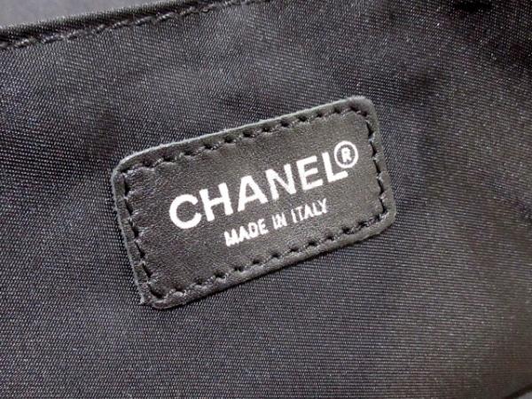 CHANEL(シャネル) ハンドバッグ ニュートラベルライン 黒 ジャガード×レザー