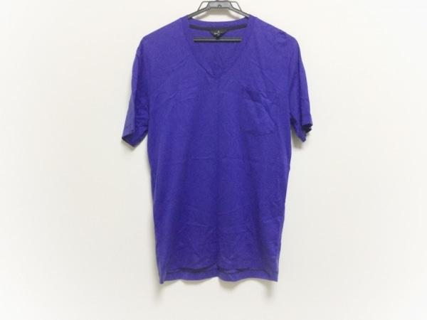 PaulSmith(ポールスミス) 半袖Tシャツ サイズM メンズ美品  ネイビー Vネック