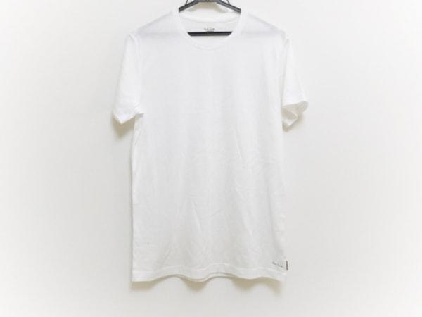PaulSmith(ポールスミス) 半袖Tシャツ サイズM メンズ美品  白 UNDERWEAR