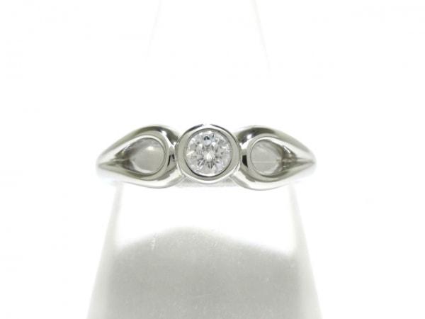 ティファニー リング美品  - Pt950×ダイヤモンド 1Pダイヤ/約0.2カラット