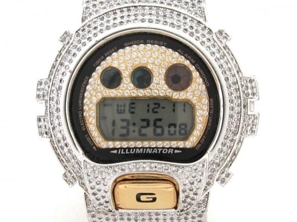 CASIO(カシオ) 腕時計 G-SHOCK DW-6900 レディース クリア×ゴールド
