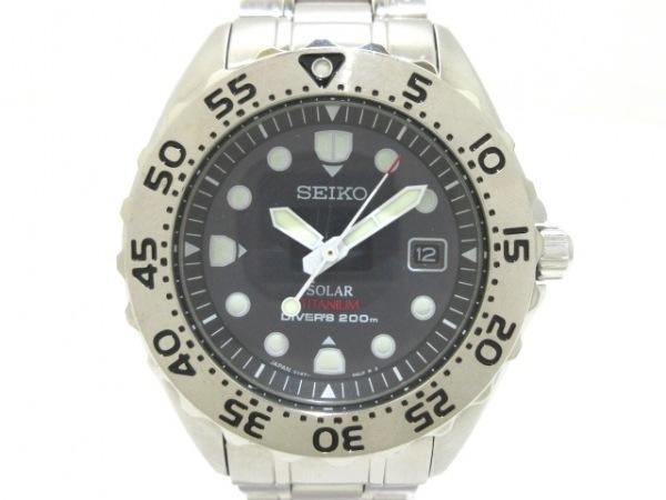 SEIKO(セイコー) 腕時計 プロスペックダイバーズ V147-0AG0 メンズ 黒