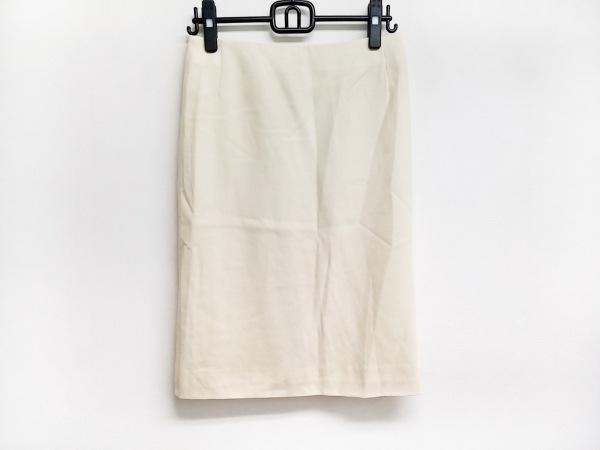 VALENTINO(バレンチノ) スカート サイズ8 M レディース アイボリー