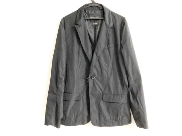 EMPORIOARMANI(エンポリオアルマーニ) ジャケット メンズ 黒 JOHNNY LINE