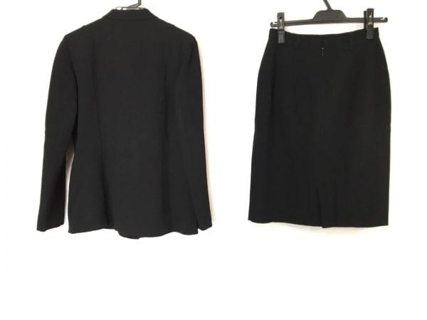 レキップ ヨシエイナバ スカートスーツ サイズ9 M レディース 黒