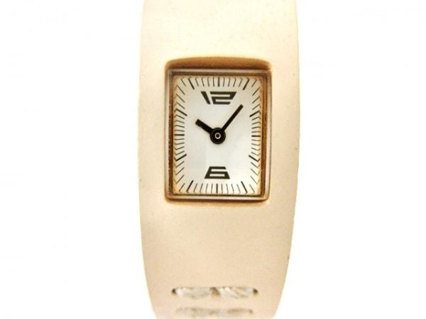 ZUCCA(ズッカ) 腕時計美品  レディース CABANEdeZUCCA 白