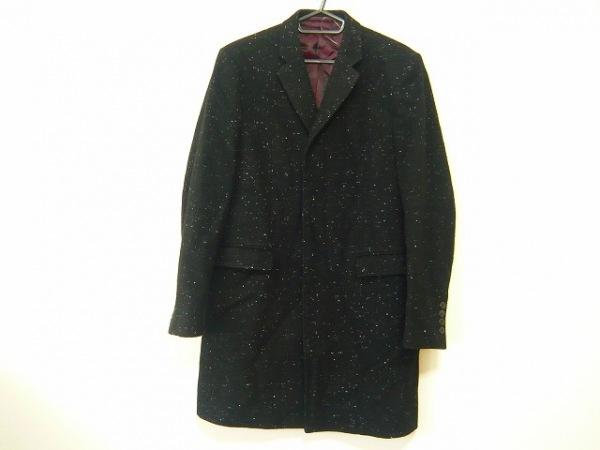 LAD MUSICIAN(ラッドミュージシャン) コート サイズ42 L メンズ 黒×アイボリー 冬物
