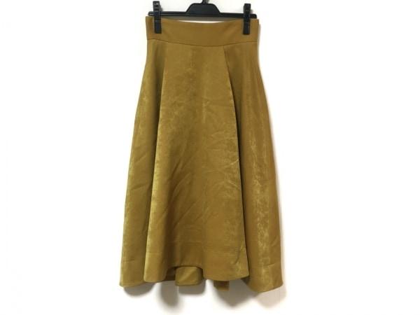 フレイアイディー ロングスカート サイズ0 XS レディース美品  ライトブラウン