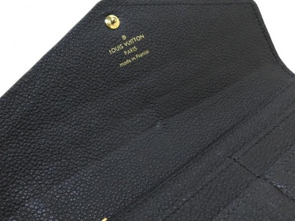 ルイヴィトン 長財布 モノグラム・アンプラント ポルトフォイユ・サラ M61182