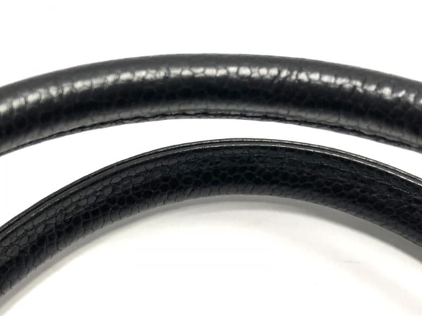 NINARICCI(ニナリッチ) ハンドバッグ 黒 リボン レザー
