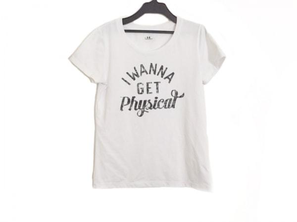 UNDER ARMOUR(アンダーアーマー) 半袖Tシャツ サイズSM レディース 白×黒