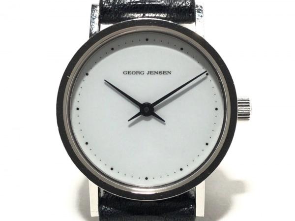 GEORG JENSEN(ジョージジェンセン) 腕時計 320 レディース 白