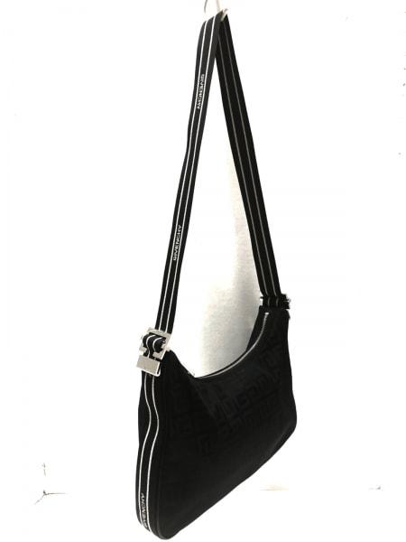 GIVENCHY(ジバンシー) ショルダーバッグ - 黒×白 ナイロン