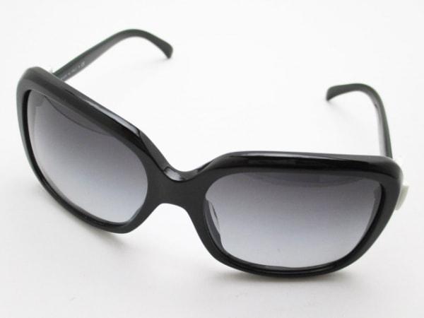 CHANEL(シャネル) サングラス 5171-A 黒×白 リボン/ココマーク プラスチック
