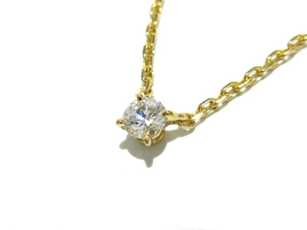 Cartier(カルティエ) ネックレス美品  ラブサポート K18YG×ダイヤモンド