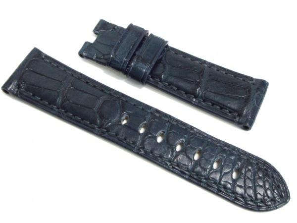 PANERAI(パネライ) ベルト ダークネイビー 腕時計用替えベルト(バックルなし)/22mm