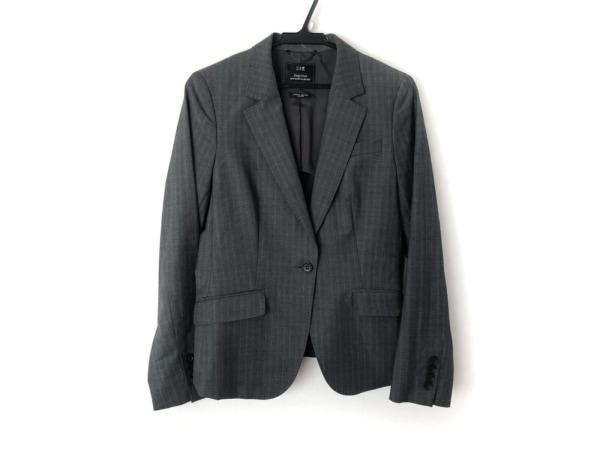 23区(ニジュウサンク) ジャケット サイズ38 M レディース美品  グレー×ライトブルー