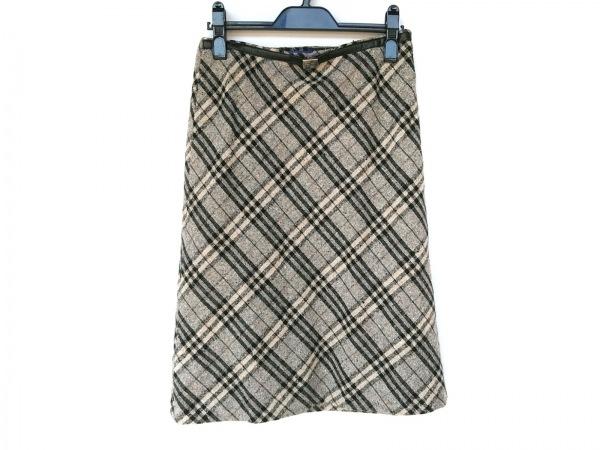 バーバリーブルーレーベル スカート サイズ38 M レディース新品同様  チェック柄