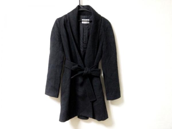 M-premierBLACK(エムプルミエブラック) コート サイズ36 S レディース美品  黒 冬物