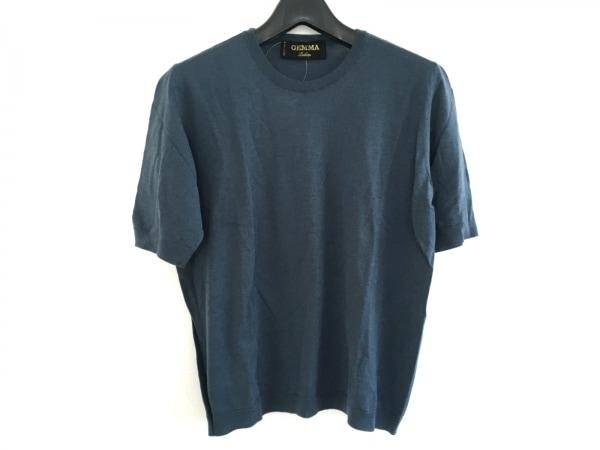 Leilian(レリアン) 半袖Tシャツ サイズ42 L レディース美品  ネイビー GEMMA