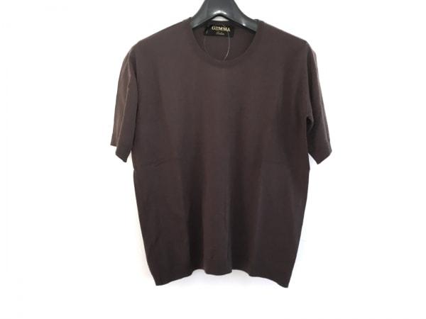 Leilian(レリアン) 半袖Tシャツ サイズ42 L レディース美品  ダークブラウン GEMMA
