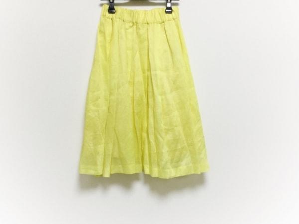 SACRA(サクラ) スカート サイズ38 M レディース イエロー