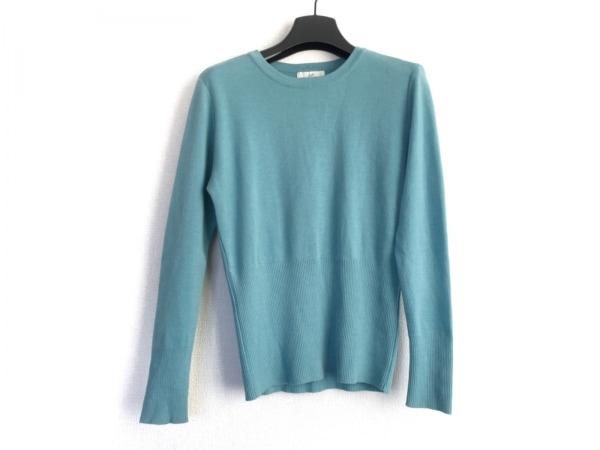 GIVENCHY(ジバンシー) 長袖セーター サイズ9 M レディース美品  ライトブルー Life