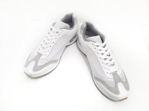 DOLCE&GABBANA(ドルチェアンドガッバーナ) スニーカー 9 メンズ美品  白×グレー