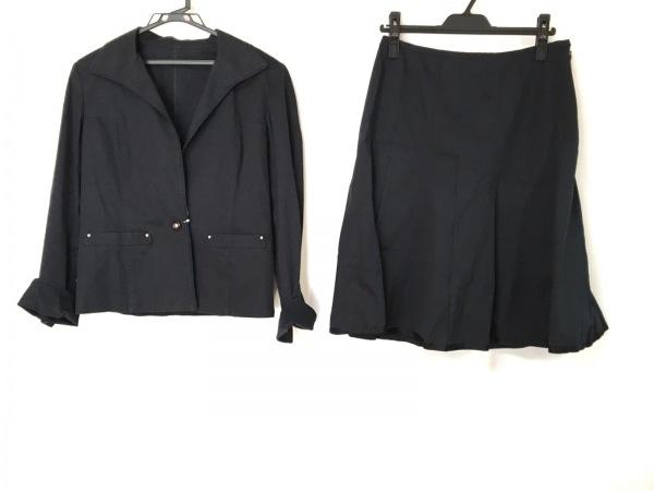 COURREGES(クレージュ) スカートスーツ レディース 黒
