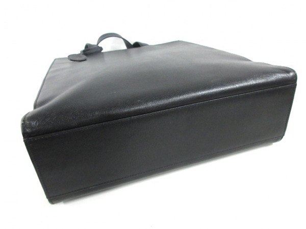 familiar(ファミリア) トートバッグ 黒 レザー