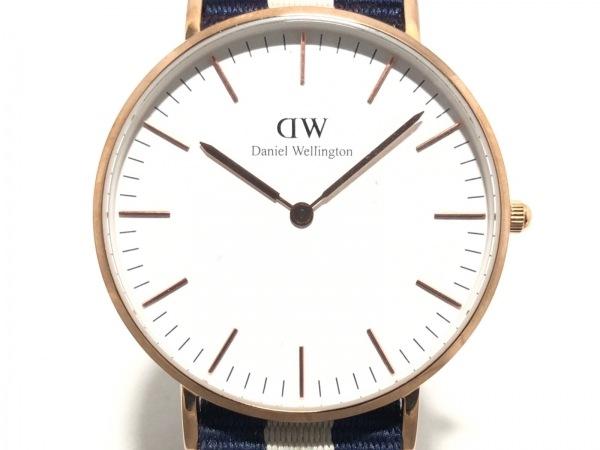 Daniel Wellington(ダニエルウェリントン) 腕時計 - ボーイズ 白