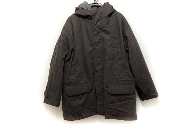 Henry Cotton's(ヘンリーコットンズ) コート サイズ52 メンズ ダークブラウン 冬物