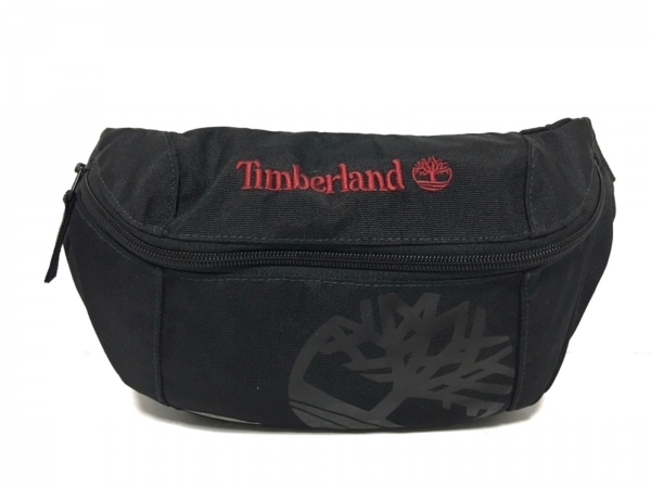 Timberland(ティンバーランド) ウエストポーチ 黒 ナイロン