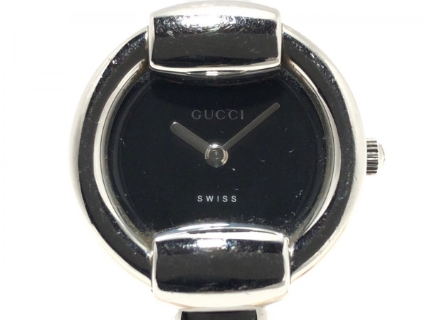 GUCCI(グッチ) 腕時計 1400L レディース 黒